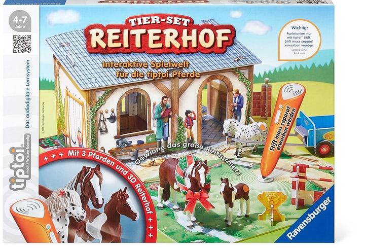 Tier-Set Reiterhof (D) 745227990000 Lengua Tedesco N. figura 1