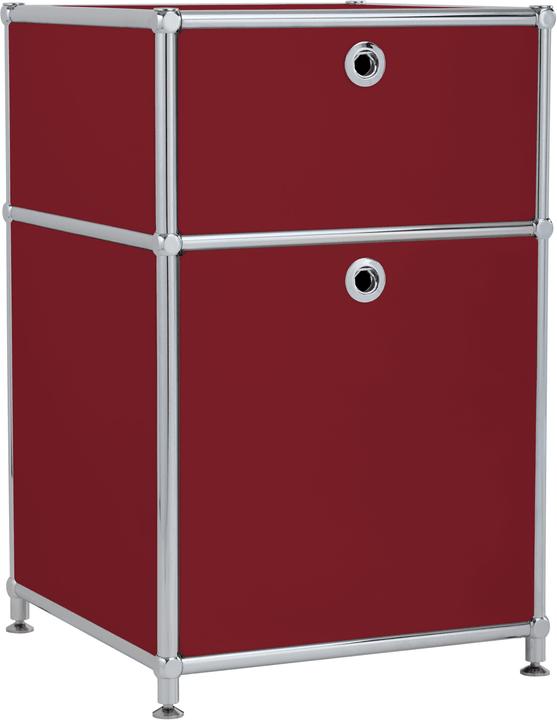 FLEXCUBE Korpus 401808400030 Grösse B: 40.0 cm x T: 40.0 cm x H: 62.5 cm Farbe Rot Bild Nr. 1