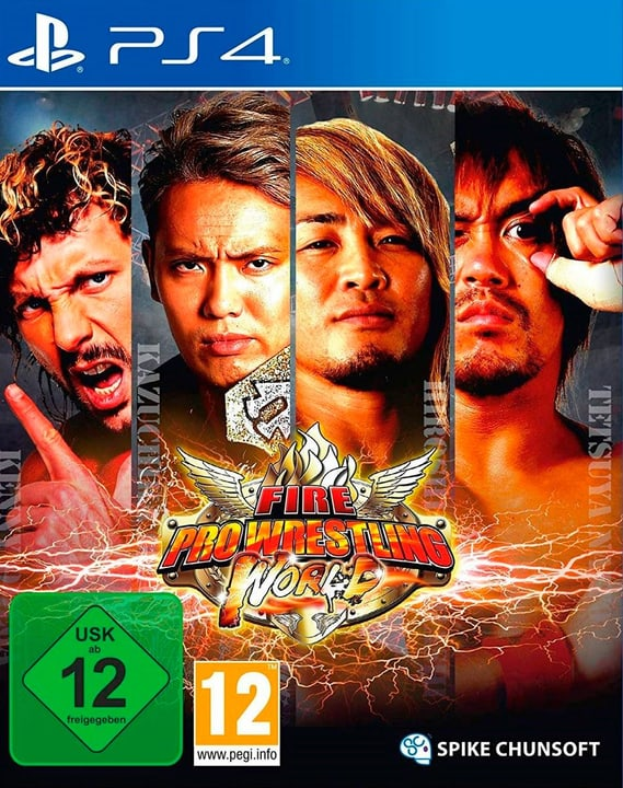 PS4 - Fire Pro Wrestling World (F) Box 785300137864 Photo no. 1