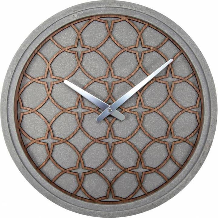 Orologio da parete Concrete Love Grey di Horologe murale NexTime 785300138518 N. figura 1