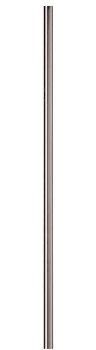 METALL Vorhangstange mit Innenlauf 430559520080 Farbe Silber Grösse B: 200.0 cm Bild Nr. 1