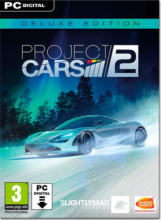 PC - Project Cars 2 - Deluxe Edition - D/F/I Download (ESD) 785300134399 Photo no. 1