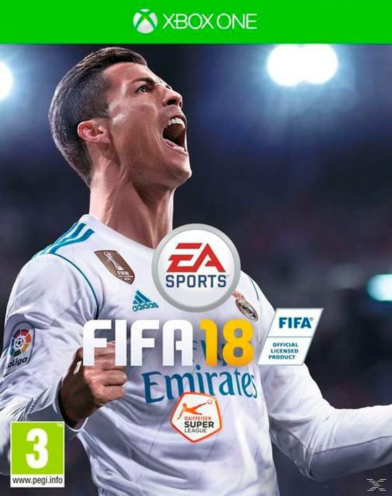 Xbox One - FIFA 18 Physique (Box) 785300122673 Photo no. 1