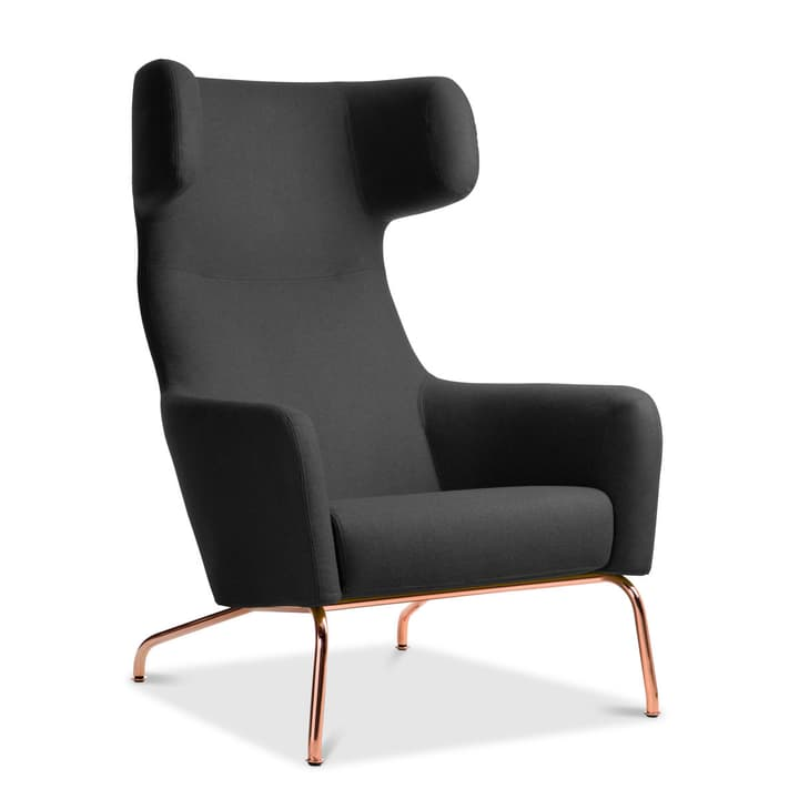 SENADO Sessel 360040266901 Grösse B: 79.0 cm x T: 96.0 cm x H: 107.0 cm Farbe Anthrazit Bild Nr. 1