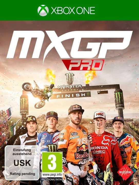 Xbox One - MXGP Pro Box 785300134667 Photo no. 1