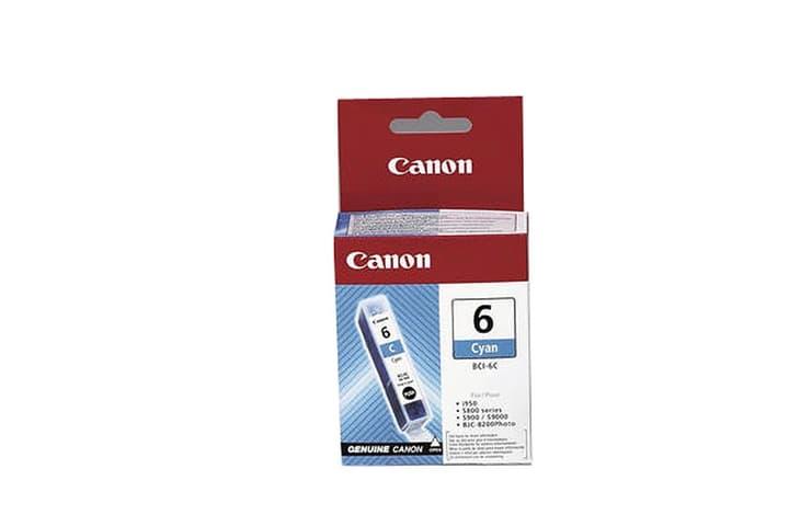 BCI-6 cartouche d'encre cyan Cartouche d'encre Canon 797432000000 Photo no. 1