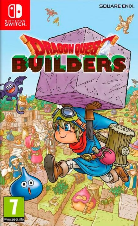 NSW - Dragon Quest Builders (I) Fisico (Box) 785300131915 N. figura 1