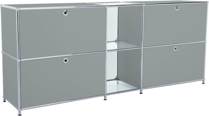 FLEXCUBE Buffet 401814320280 Dimensions L: 189.0 cm x P: 40.0 cm x H: 80.5 cm Couleur Gris Photo no. 1