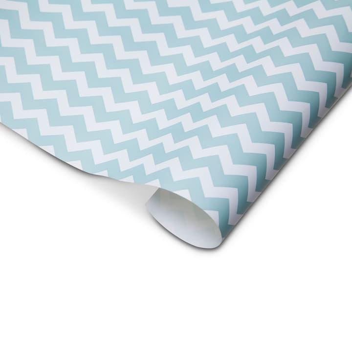 ACCENTO Papier de cadeau 70x300 cm 386125600000 Couleur Bleu Dimensions L: 300.0 cm x P: 70.0 cm Photo no. 1