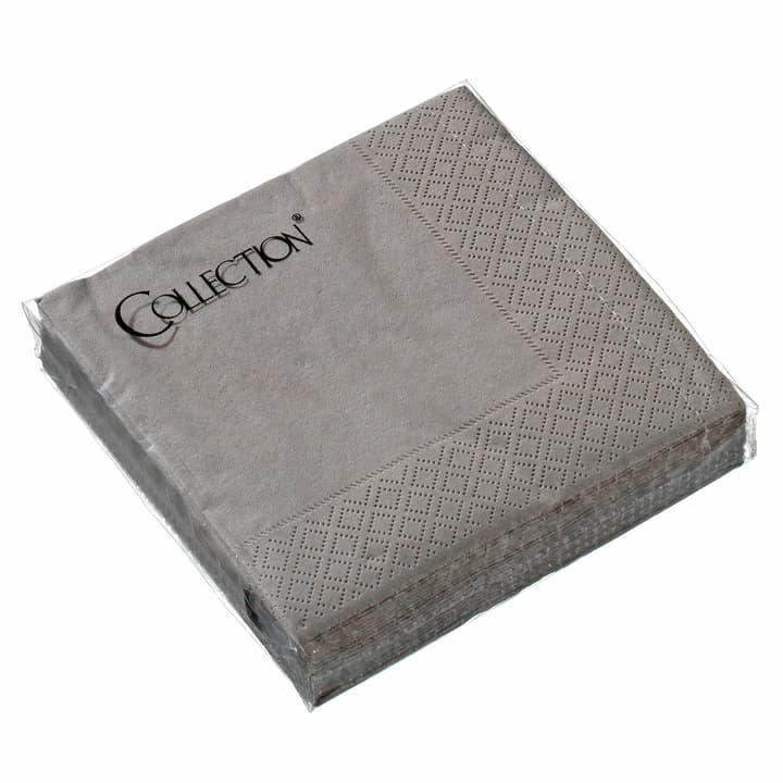 PAPER Serviettes en papier 440205602588 Couleur Taupe Dimensions L: 25.0 cm x P: 25.0 cm Photo no. 1