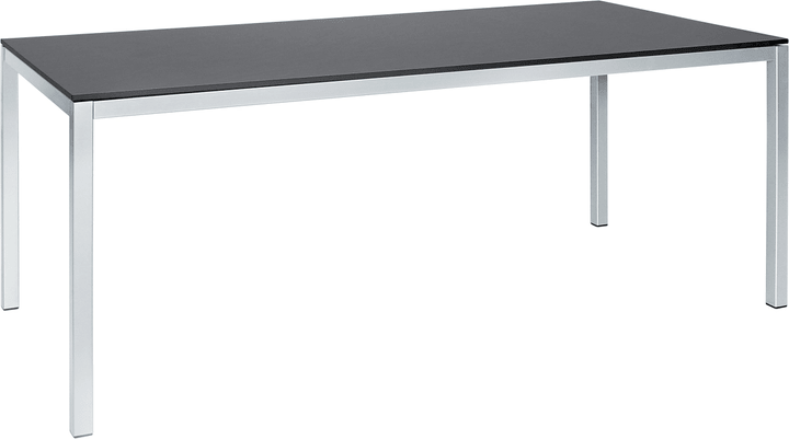 LOCARNO HPL Table 753184600083 Taille L: 140.0 cm x L: 80.0 cm x H: 74.0 cm Couleur Dark grey Photo no. 1