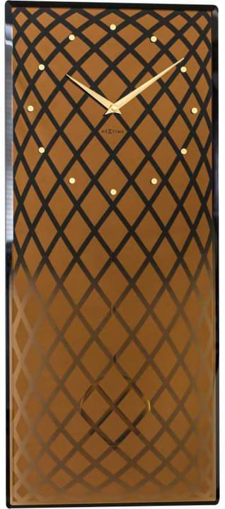 Orologio a pendolo in rame 30 x 70 c Horologe murale NexTime 785300138491 N. figura 1