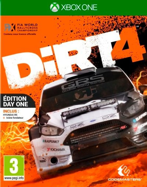 Xbox One - DiRT 4 Day Edition Physique (Box)