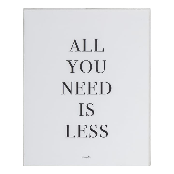 ALL YOU NEED Poster 384025600000 Bild Nr. 1