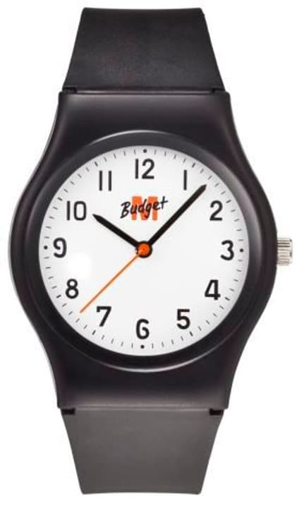 Armband schwarz / weisses ZB Armbanduhr M-Budget 760525600020 Bild Nr. 1