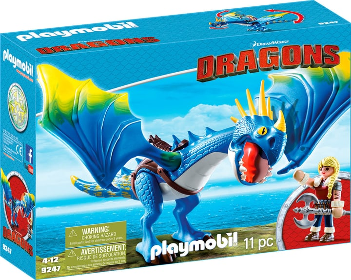 Playmobil Dragons Astrid et Tempête 9247 746086500000 Photo no. 1