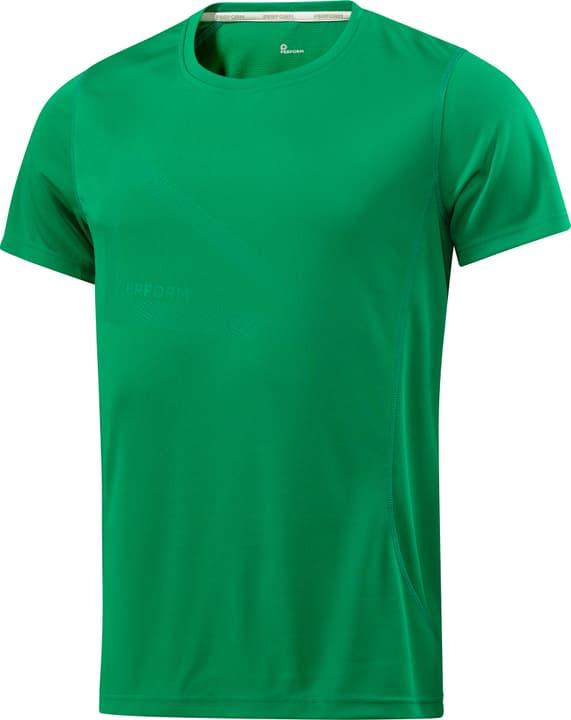 Shirt pour homme Perform 470140700360 Couleur vert Taille S Photo no. 1