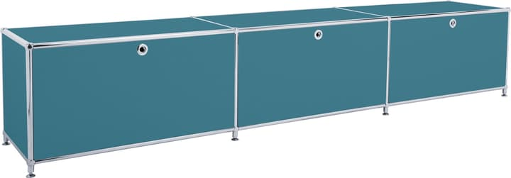 FLEXCUBE Buffet bas 401813530166 Dimensions L: 227.0 cm x P: 40.0 cm x H: 44.5 cm Couleur Pétrole Photo no. 1