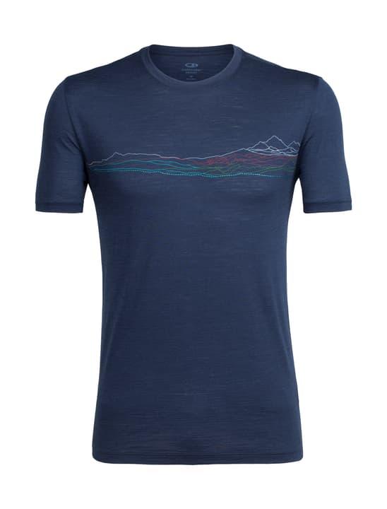 Spector Waterline T-shirt à manches courtes pour homme Icebreaker 477075700343 Couleur bleu marine Taille S Photo no. 1