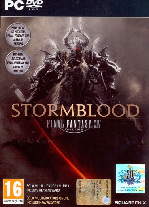 PC - Final Fantasy XIV: Stormblood Box 785300122331 Photo no. 1