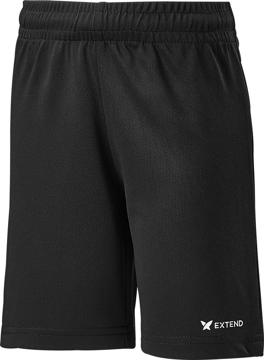 Short de football pour enfant Extend 472339509220 Couleur noir Taille 92 Photo no. 1