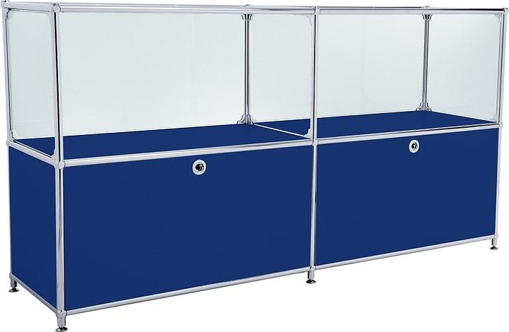 FLEXCUBE Sideboard 401814120240 Farbe Blau Grösse B: 152.0 cm x T: 40.0 cm x H: 80.5 cm Bild Nr. 1