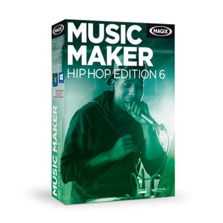 Music Maker Hip Hop Edition 6 PC (D/F/I/E) Digitale (ESD) Magix 785300133250 N. figura 1