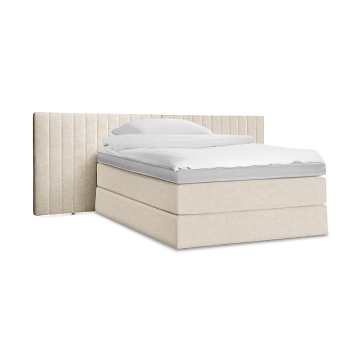 GRACE Lit Boxspring 364287100000 Dimensions L: 200.0 cm x P: 160.0 cm Couleur Nature Photo no. 1