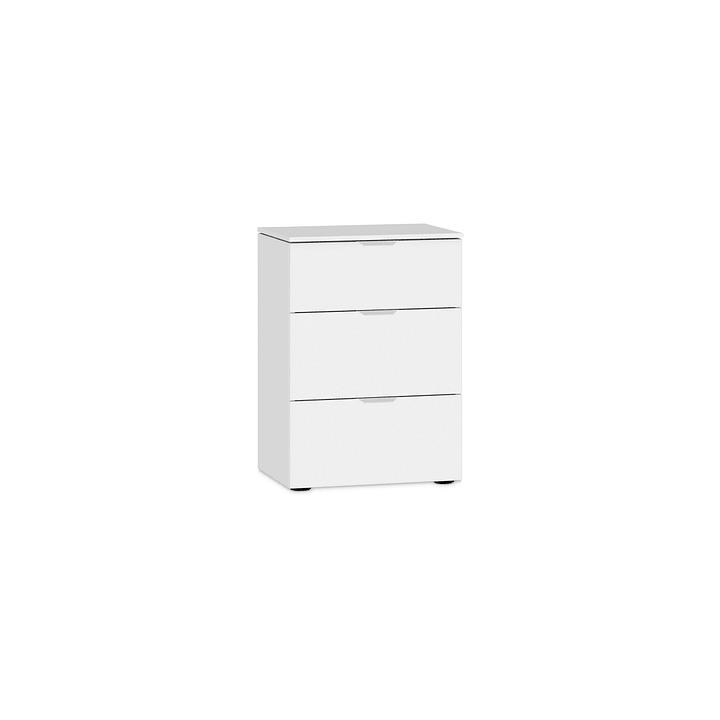 MILO Nachttisch 364150500000 Farbe Weiss Grösse B: 45.0 cm x T: 43.0 cm x H: 65.0 cm Bild Nr. 1