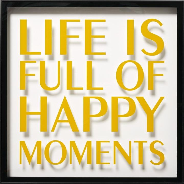 HAPPINESS Tableau acrylique 431837100000 Photo no. 1