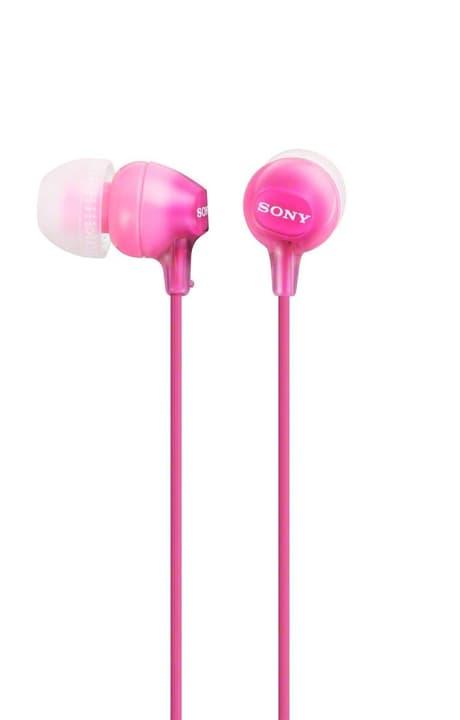MDR-EX15LPPI - Pink In-Ear Kopfhörer Sony 772756400000 Bild Nr. 1