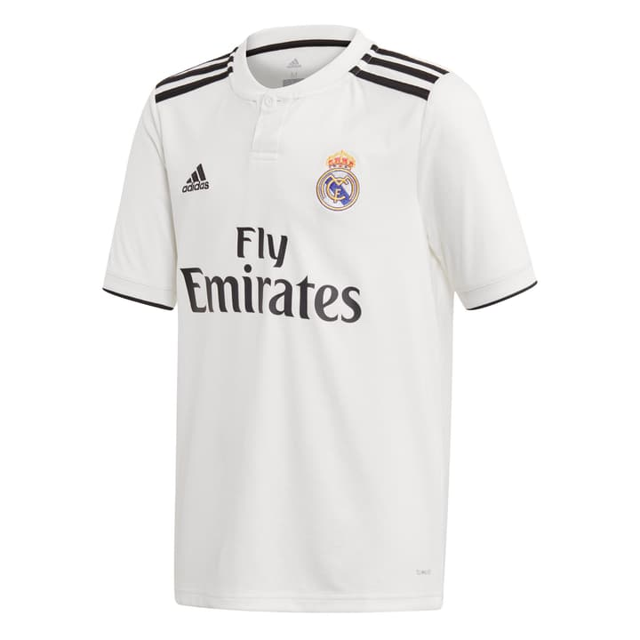 18/19 REAL MADRID HOME JERSEY YOUTH Shirt de football pour enfant Adidas 464580315210 Couleur blanc Taille 152 Photo no. 1