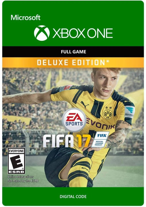 Xbox One - Fifa 17 Deluxe Edition Digital (ESD) 785300137337 N. figura 1