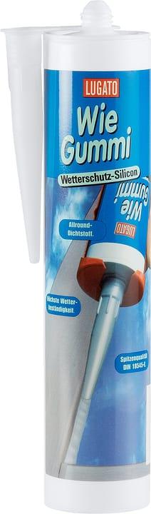 Wie Gummi Wetterschutz-Silikon 310 ml Lugato 676004100000 Farbe Transparent Bild Nr. 1