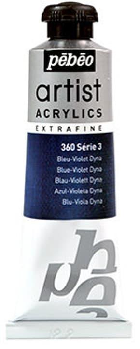 Acrylic EF 37 ml Pebeo 663569200000 Colore Bleu violet dyna N. figura 1