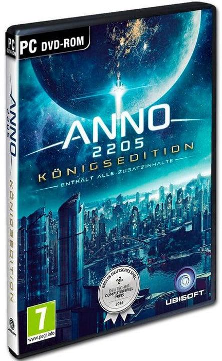 PC - Anno 2205 - Königsedition  D Physisch (Box) 785300137754 Bild Nr. 1