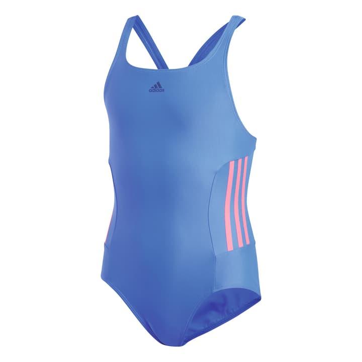 Infinitex Essence Core Mädchen-Badeanzug Adidas 462887712840 Farbe blau Grösse 128 Bild-Nr. 1