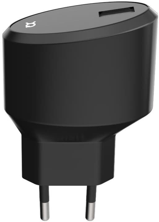 Travel Charger 2.4A Single USB EU - USB C noir Chargeur XQISIT 798623500000 Photo no. 1