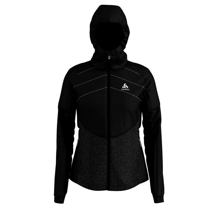 Millennium S-Thermic Jacket Veste pour femme Odlo 470195000520 Colore nero Taglie L N. figura 1