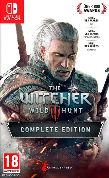 NSW - The Witcher 3 : Wild Hunt - Complete Edition D Box 785300145436 Photo no. 1