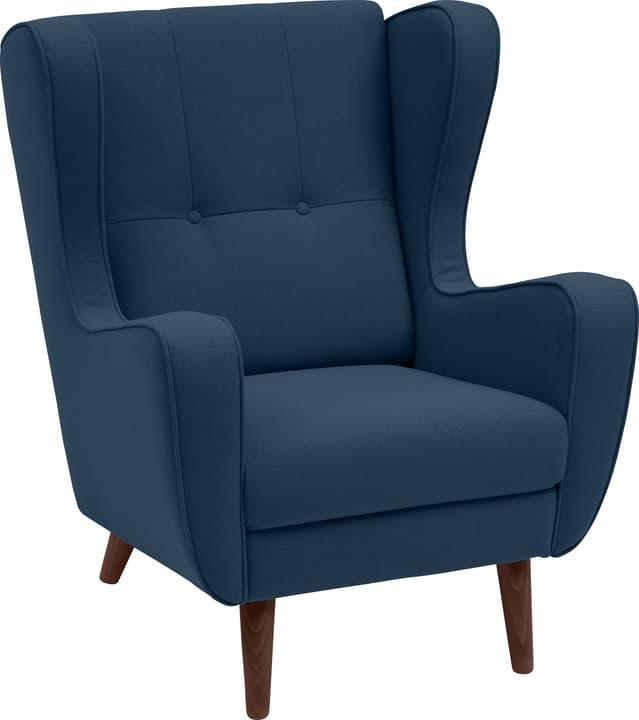 BRAHMS Poltrona 402462907040 Dimensioni L: 80.0 cm x P: 90.0 cm x A: 97.5 cm Colore Blu N. figura 1