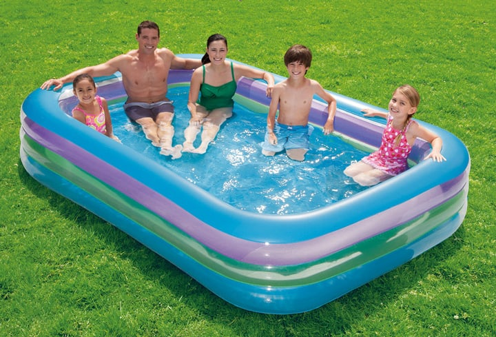 Piscina Family Color Summer Waves 647123700000 N. figura 1