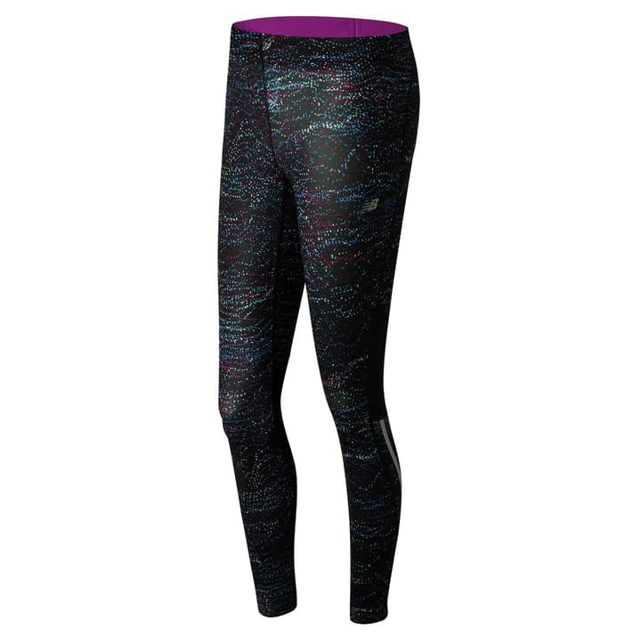 W Impact Tight Print Damen-Running-Tights New Balance 470108200220 Farbe schwarz Grösse XS Bild-Nr. 1