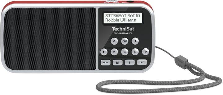 TechniRadio RDR - Rouge Radio DAB+ Technisat 785300144864 Photo no. 1