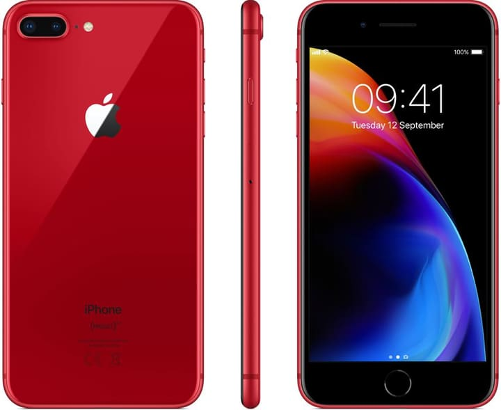 iPhone 8 Plus rot 256GB Smartphone Apple 785300134678 Bild Nr. 1