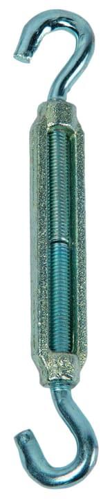 Tenditore zincato con 2 gancio Meister 604719000000 Taglio M8 x 105 mm N. figura 1