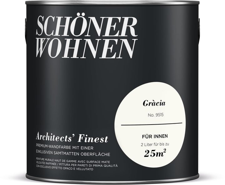 Architects' Finest Gràcia 2 l Schöner Wohnen 660967500000 Couleur Gràcia Contenu 2000.0 ml Photo no. 1