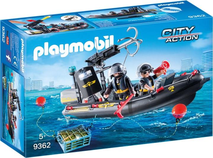 Playmobil Gommone Unità Speciale con refurtiva 746094800000 N. figura 1