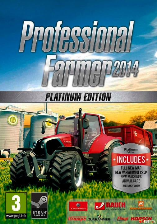 PC - Professional Farmer  2014 Platinum edition Download (ESD) 785300133903 N. figura 1