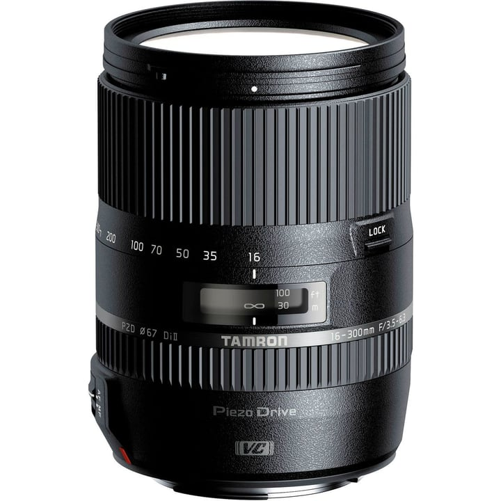AF16-300mm f3,5 -6,3 Di II VC PZD Macro pour Canon Objectif Tamron 785300123867 Photo no. 1